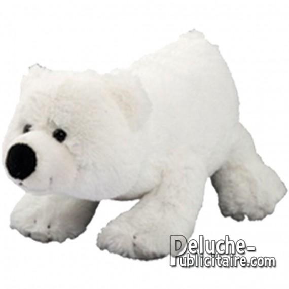 Purchase Polar Bear Plush 16 cm.Plush to customize.