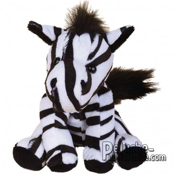 Purchase Zebra Plush 15 cm.Plush to customize.