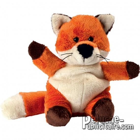 Purchase Fox Plush 14 cm.Plush to customize.