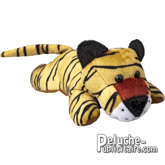 Achat Peluche Tigre 12 cm. Peluche à Personnaliser.