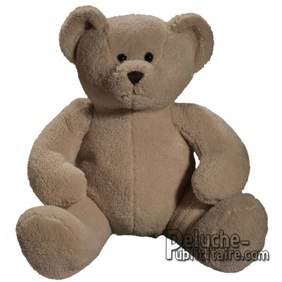 Purchase Bear Plush 38 cm. Plush to customize.