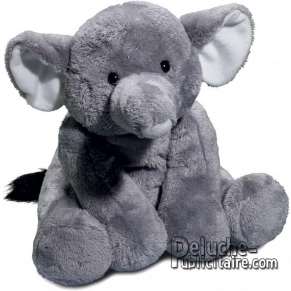 Buy Elephant Plush 30 cm.Plush to customize.