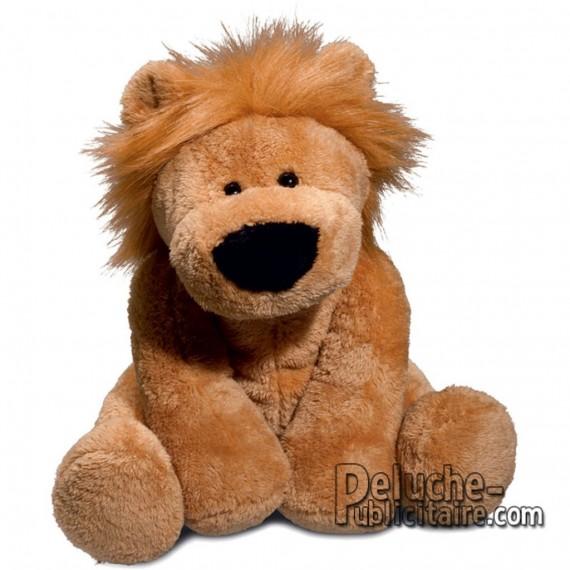 Achat Peluche Lion 30 cm. Peluche à Personnaliser.