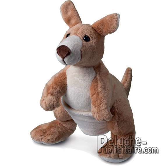 Purchase Kangaroo Plush 20 cm. Plush to customize.