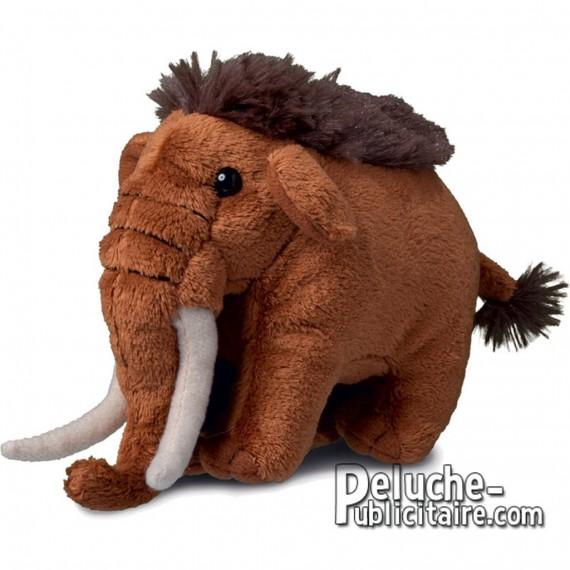 Buy Mammoth Plush 12 cm.Plush to customize.