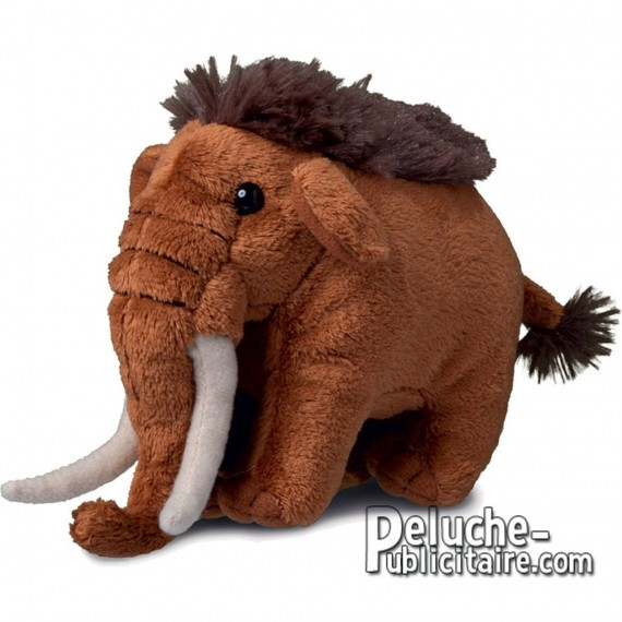 Buy Mammoth Plush 12 cm. Plush to customize.