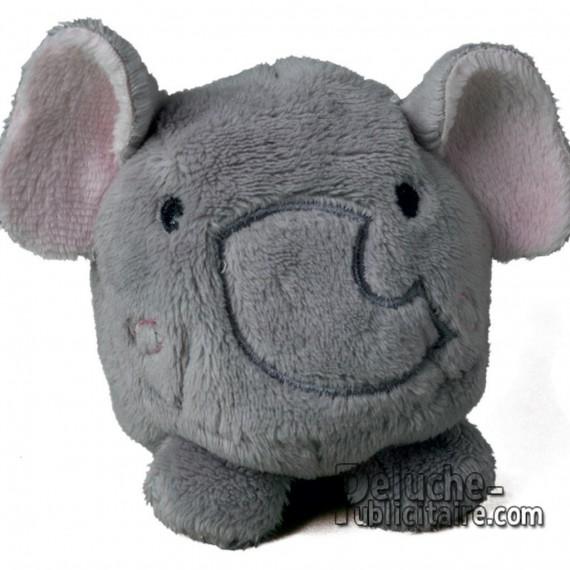 Achat Peluche Éléphant 7 cm. Peluche à Personnaliser.