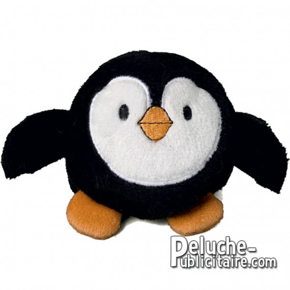 Purchase Penguin soft toy 7 cm. Plush to customize.