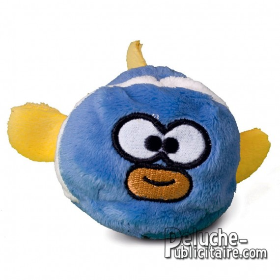 Purchase Stuffed Fish 7 cm.Plush to customize.