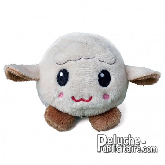 Purchase Sheepskin Plush 7 cm.Plush to customize.