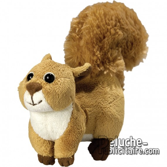 Buy Squirrel Plush 18 cm. Plush to customize.