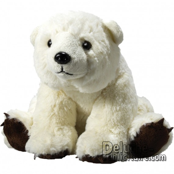 Purchase Polar Bear Plush 20 cm. Plush to customize.