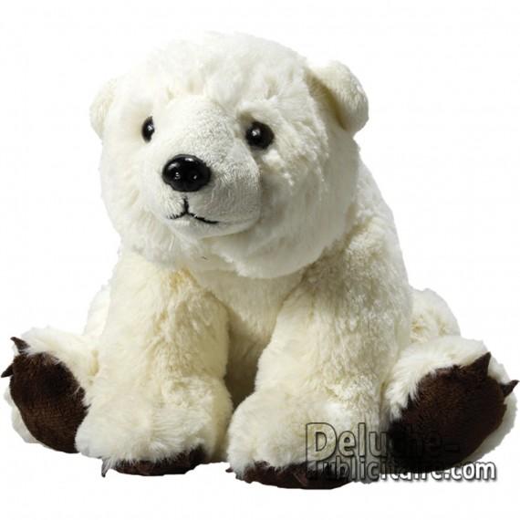 Purchase Polar Bear Plush 20 cm.Plush to customize.
