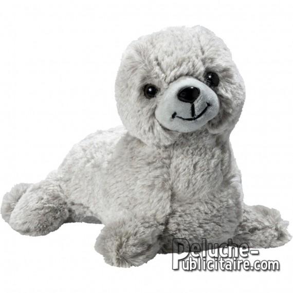 Buy Plush Seal 20 cm.Plush to customize.