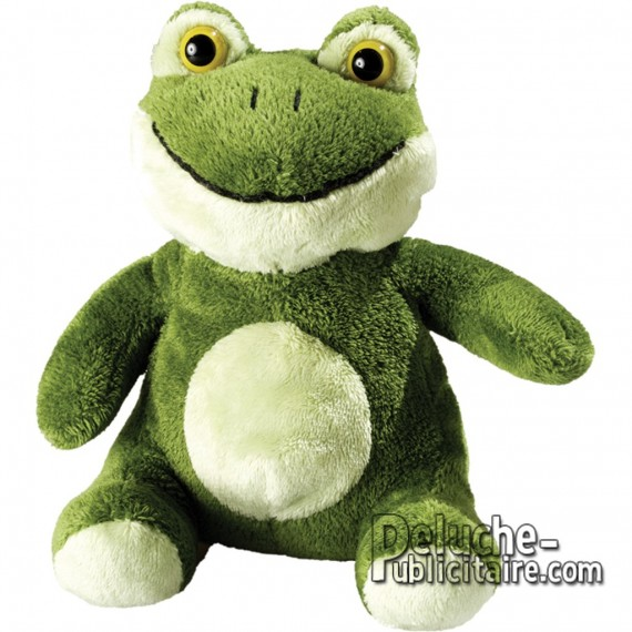 Purchase Frog Plush 14 cm. Plush to customize.