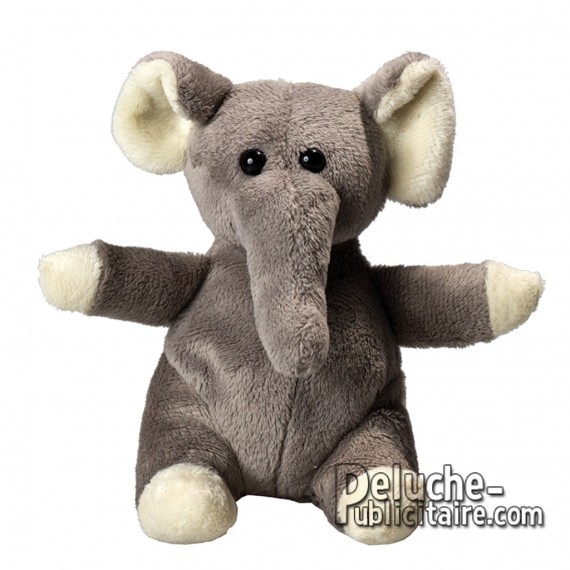 Buy Elephant Plush 14 cm. Plush to customize.