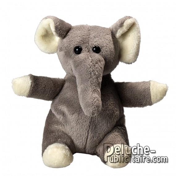 Buy Elephant Plush 14 cm.Plush to customize.
