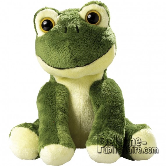 Purchase Frog Plush 15 cm. Plush to customize.