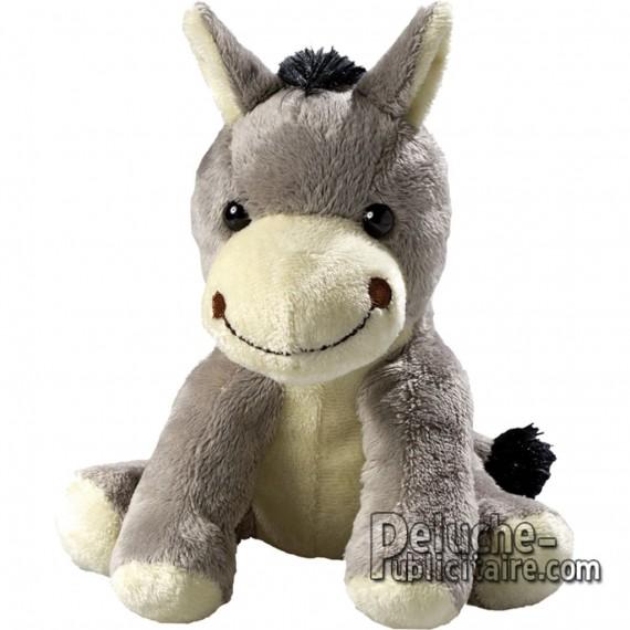 Buy Plush Donkey 15 cm.Plush to customize.