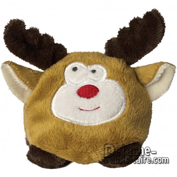 Buy Elk Plush 7 cm. Plush to customize.