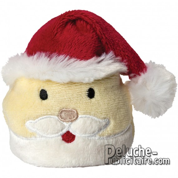 Buy Plush Santa Claus 7 cm. Plush to customize.