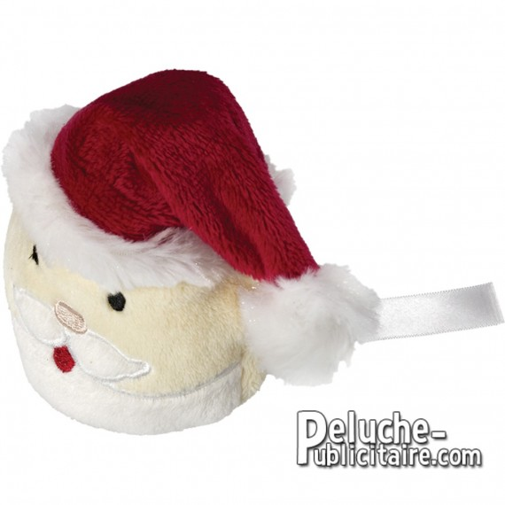 Christmas plush toys to personalize with logo or brand.
