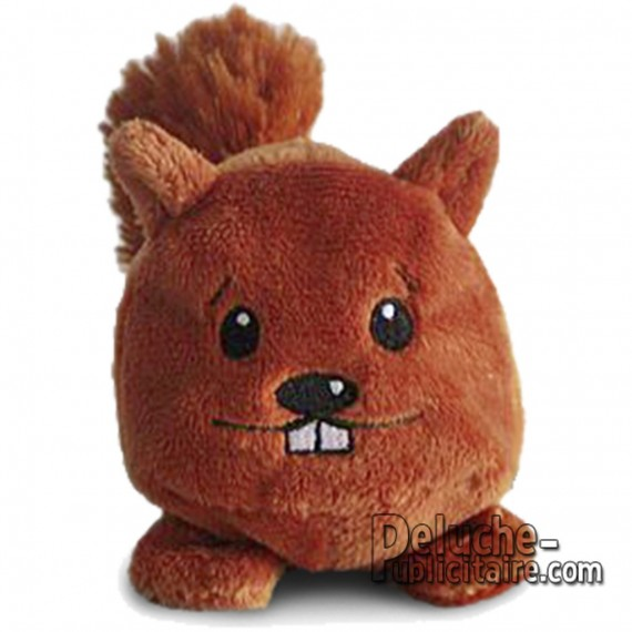 Buy Squirrel Plush 7 cm.Plush to customize.
