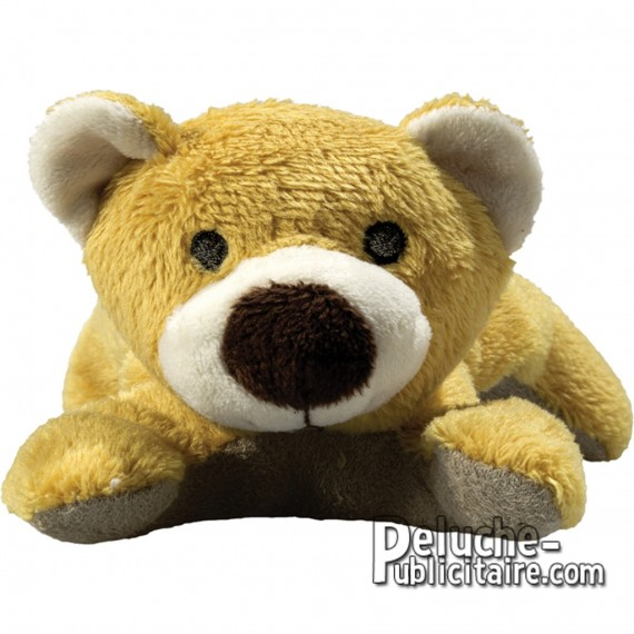 Purchase Bear Plush 12 cm. Plush to customize.