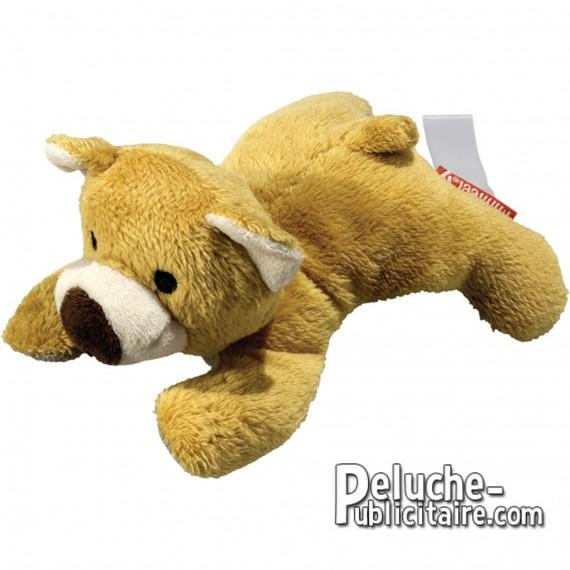 Purchase Bear Plush 12 cm.Plush to customize. Lying plush.