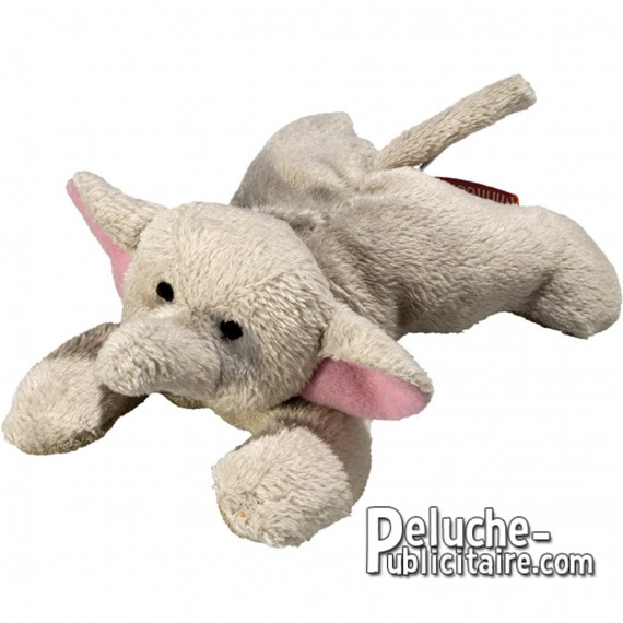 Buy Elephant Plush 12 cm. Plush to customize.