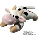 Buy Plush Cow 12 cm.Plush to customize.