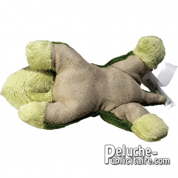 Crocodile plush toy to customize with  logo.