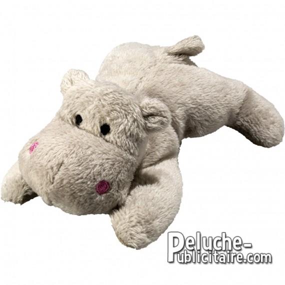 Achat Peluche Hippopotame 12 cm. Peluche à Personnaliser.