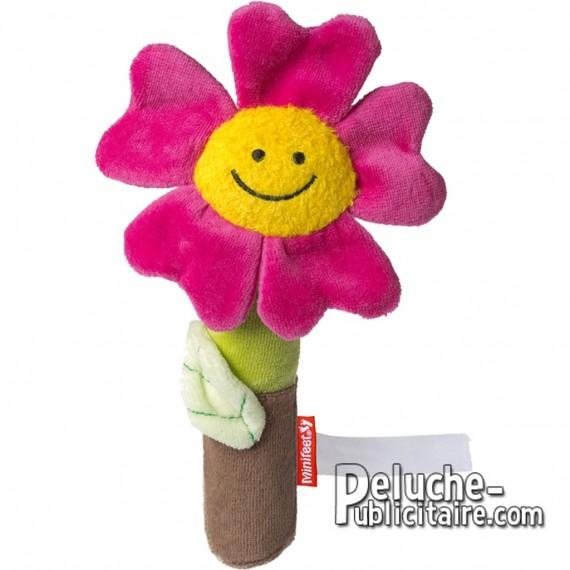Achat Peluche Fleur 16 cm. Peluche à Personnaliser.