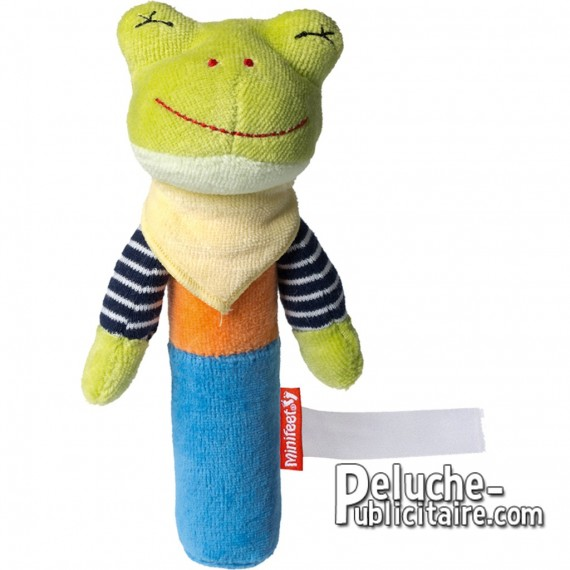 Purchase Frog Plush 16 cm. Plush to customize.