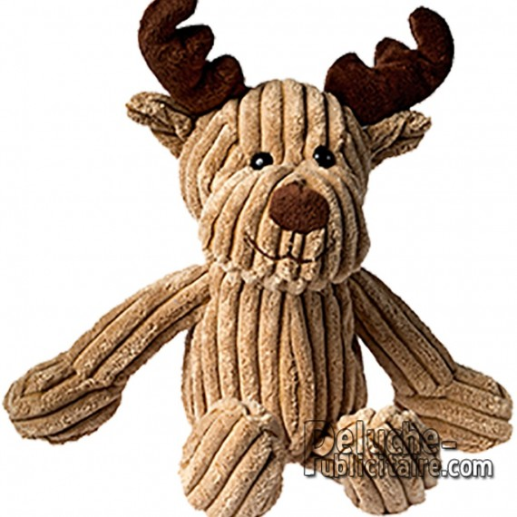 Purchase Elk plush 20 cm. Plush to customize.