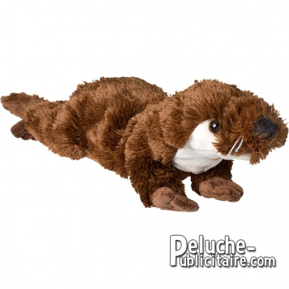 Buy Loutre Plush Toy 45 cm. Plush to customize.
