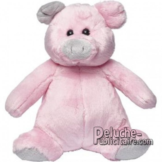 Purchase Pig Plush 25cm. Plush to customize.