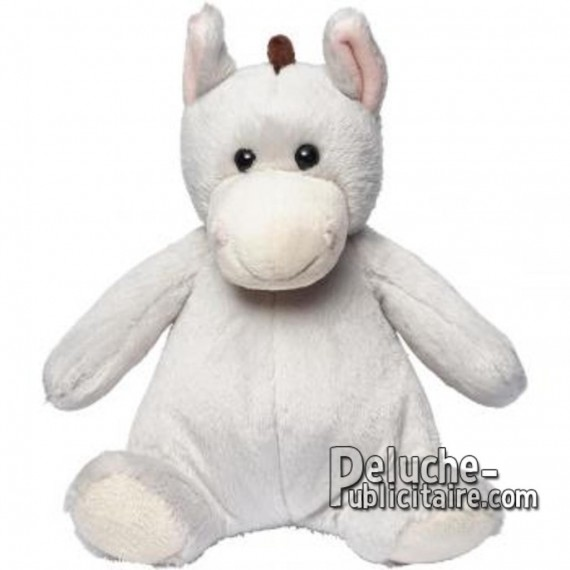Buy Stuffed Donkey 25cm. Plush to customize.