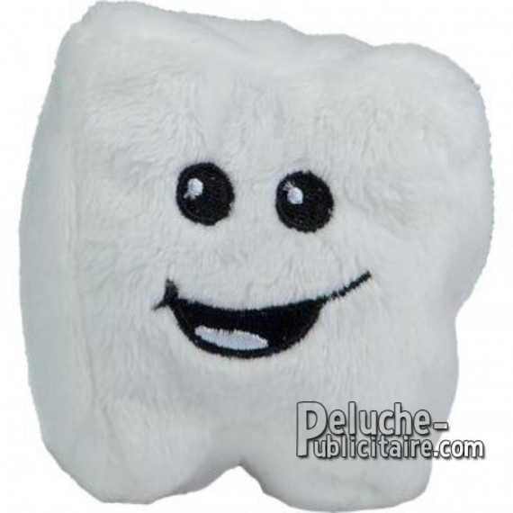 Buy Plush Tooth 7 cm. Plush to customize.