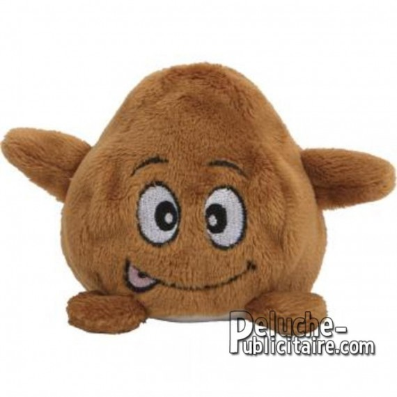 Purchase AppleTop Stuffed Toy 7 cm. Plush to customize.