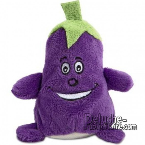 Buy Aubergine Plush 7 cm. Plush to customize.