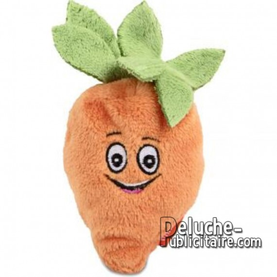 Purchase Stuffed Carrot 7 cm.Plush to customize.