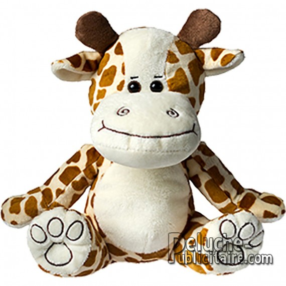 Purchase Giraffe Plush 20 cm. Plush to customize.