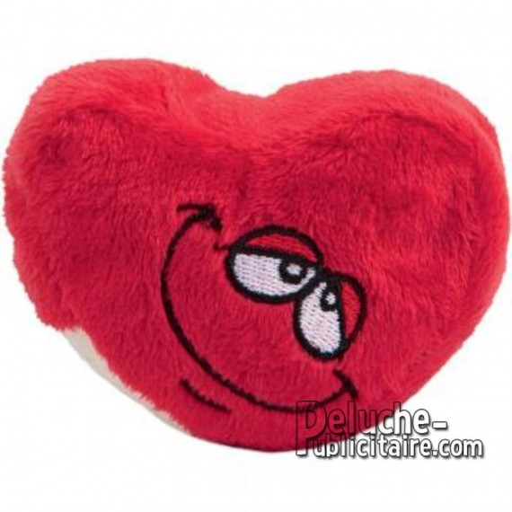 Purchase Stuffed Heart 7 cm. Plush to customize.