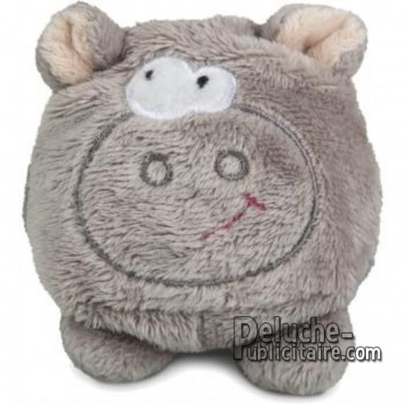 Achat Peluche Hippopotame 7 cm. Peluche à Personnaliser.
