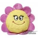 Achat Peluche Fleur 7 cm. Peluche à Personnaliser.
