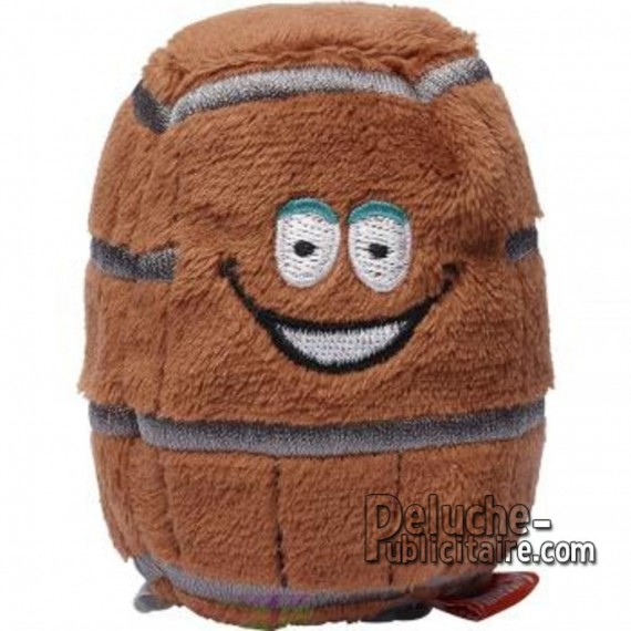 Buy Plush Barrel 7 cm. Plush to customize.