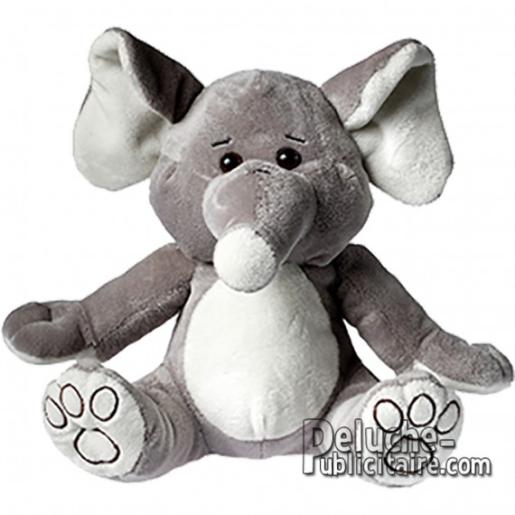 Buy Elephant Plush 20 cm. Plush to customize.