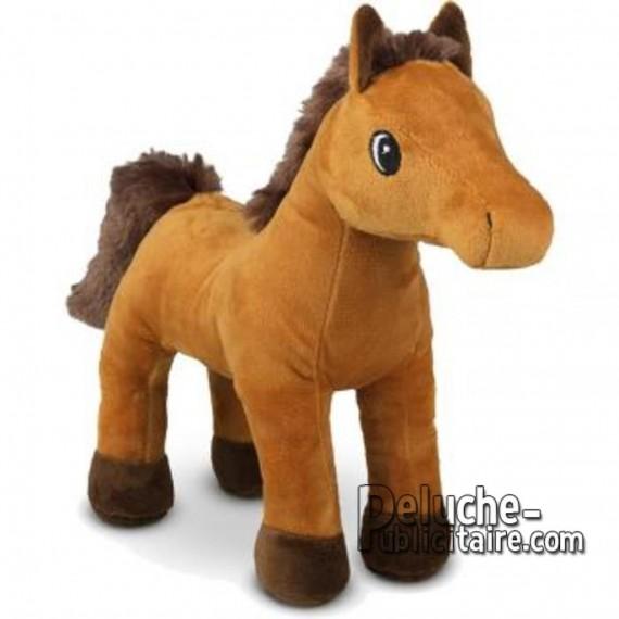 Buy Plush Horse 25 cm.Plush to customize.